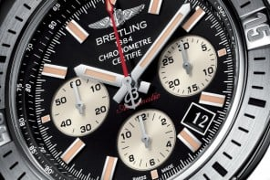 Breitling Chronomat Airborne is unveiled with style aboard an Emirates A380 at 35,000 feet