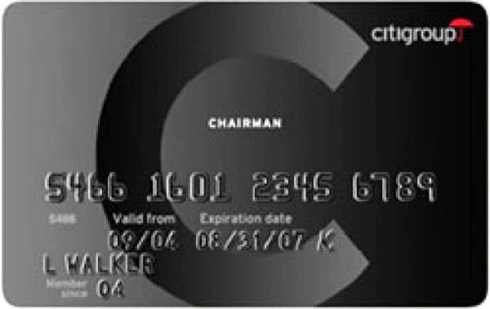 citigroup-chairman-american-express-card