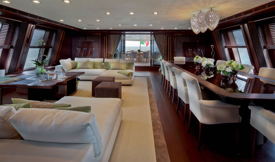 J Ade Megayacht By Crn Boasts The World S First Floating