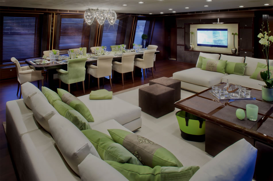J'ade Megayacht By CRN Boasts The World's First Floating