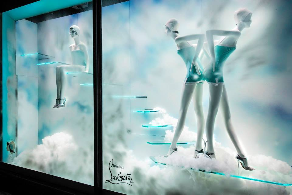 Stunning Window Displays At Harrods Shoe Heaven Makes Us