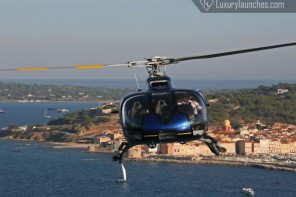 We try out the ultimate in luxury travel – Helicopter transfer at the picturesque French Riviera