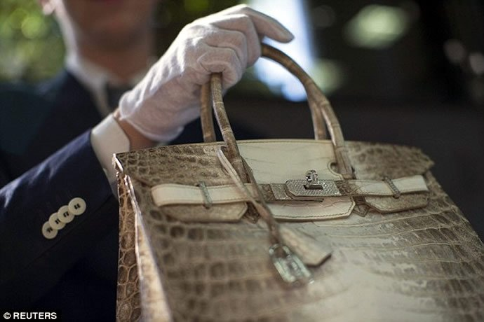A Hermes Birkin Handbag Was Auctioned For 185 000 And