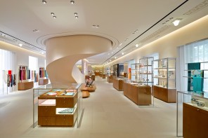 Spread over four floors Hermès global Maison flagship opens in the heart of Shanghai