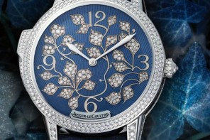 Diamond encrusted Jaeger-LeCoultre Rendez-Vous Ivy Minute Repeater