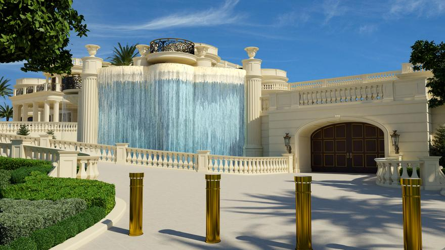 Inside america s most expensive home the 139 million for Palace of versailles florida