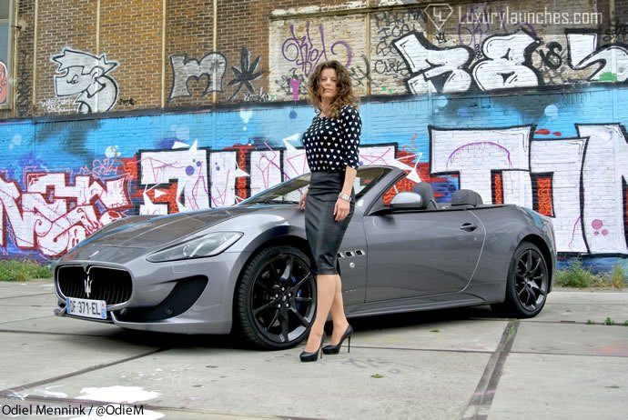 We Review The Maserati Gran Cabrio Sport And Boy She Is Drop Dead
