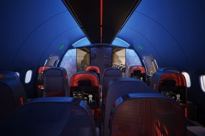 Check out this Nike designed jet for sports teams which has its own luxury lounge and training room