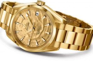 A one of its kind Omega  Seamaster celebrates the 50th anniversary of the 007 flick Goldfinger