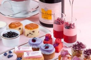 Mandarin Oriental Hong Kong collaborates with Francois Milot to create its first signature Violet & Blueberry Jam
