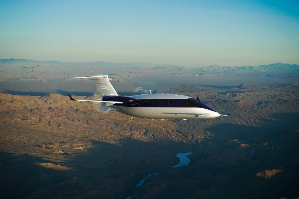 Piaggio's Avanti Evo Twin-turbo prop aircraft is greener ...