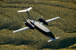 Piaggio's Avanti Evo Twin-turbo prop aircraft is greener and faster