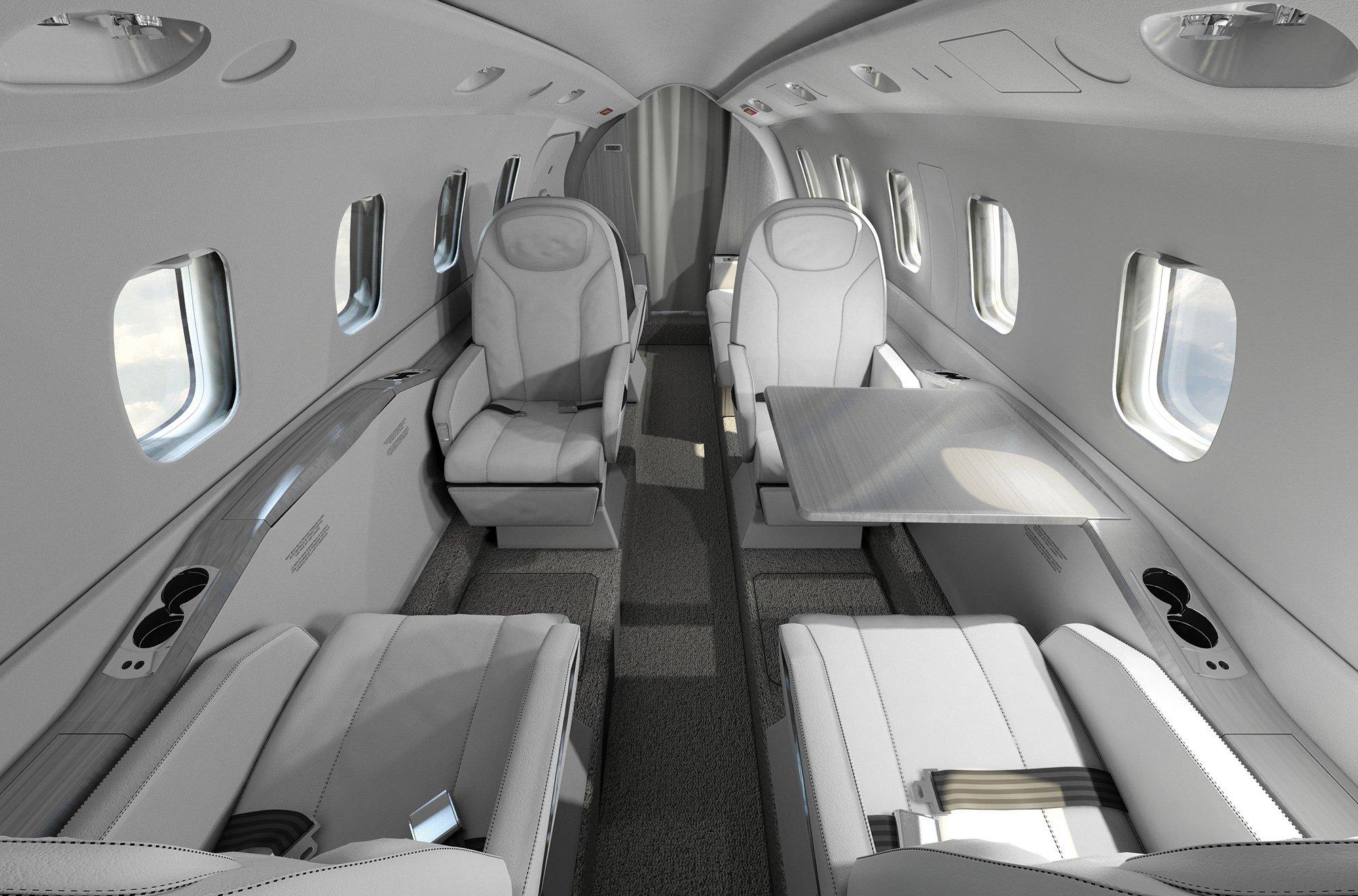 piaggio's avanti evo twin-turbo prop aircraft is greener and faster -