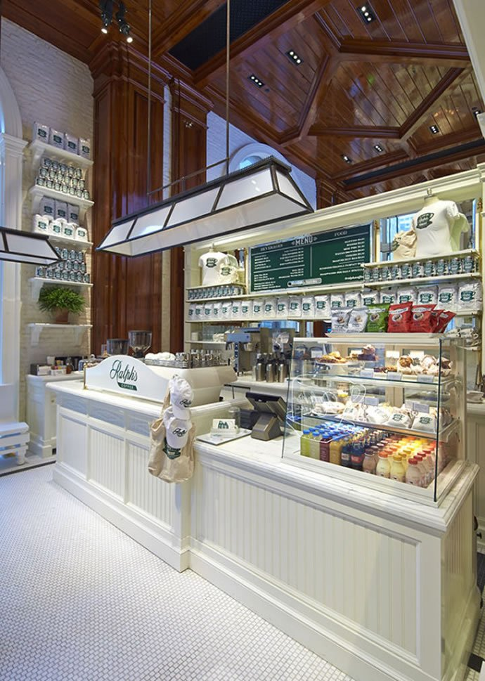 Ralph Lauren opens his own coffee shop in New York