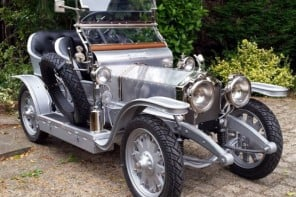 This $25,000 scaled replica of 1907 Rolls Royce Silver Ghost let your kids roll in style