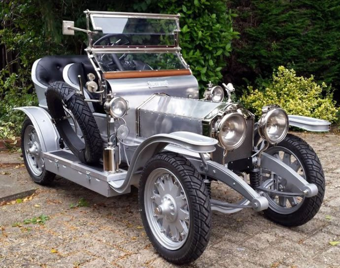 This 25 000 Scaled Replica Of 1907 Rolls Royce Silver