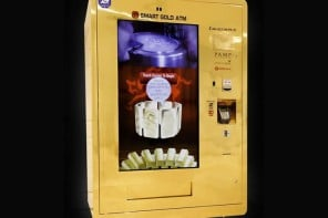 Gold dispensing vending machine arrives in Singapore