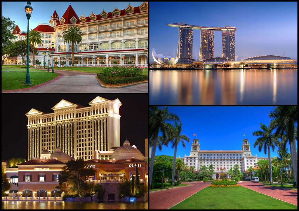 Top 10 hotels around the world that are popular with multi for Hotels of the world
