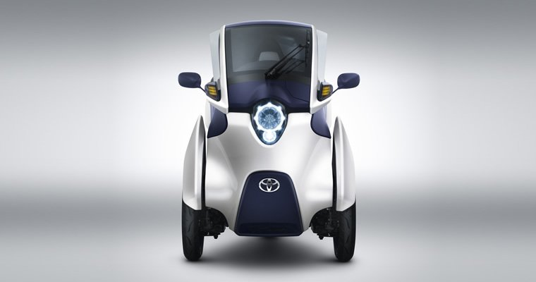 Toyota brings three-wheeled i-Road EVs in France for trials