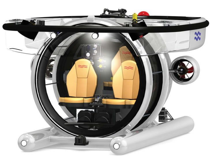 For the 0.1% – U-Boat Worx an ultra light weight superyatch friendly submersible