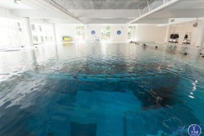 This Italian hotel has the worlds deepest pool which has a terrifying depth of 40 meters or a 12-storey building