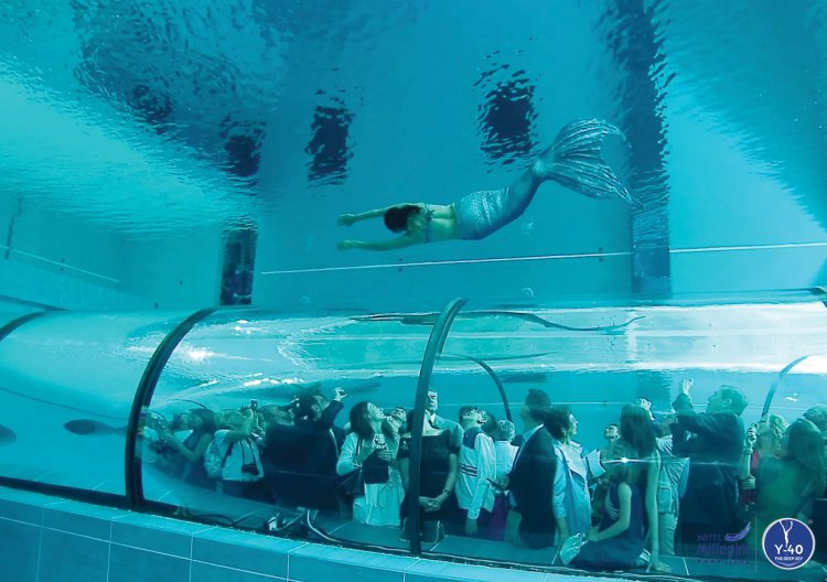 This Italian Hotel Has The Worlds Deepest Pool Which Has A Terrifying Depth Of 40 Meters Or A 12
