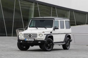 35TH Anniversary Mercedes Geländewagen celebrates ruggedness with luxury