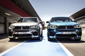 ​The 567-HP BMW X5 M and X6 M officially unveiled ahead of Los Angeles motor show debut