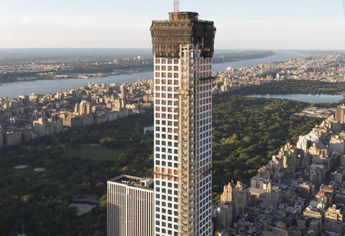 432 Park Avenue At 1 396 Feet This Is The Tallest