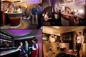 The 5 most luxurious onboard airline bars – Cocktails, premium munchings, they have it all