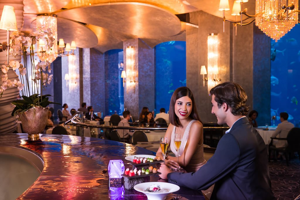 Underwater Restaurant Atlantis Suite of the week: The...