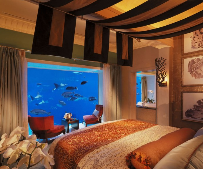 Suite of the week the incredible underwater suites at for The most expensive hotel room in dubai