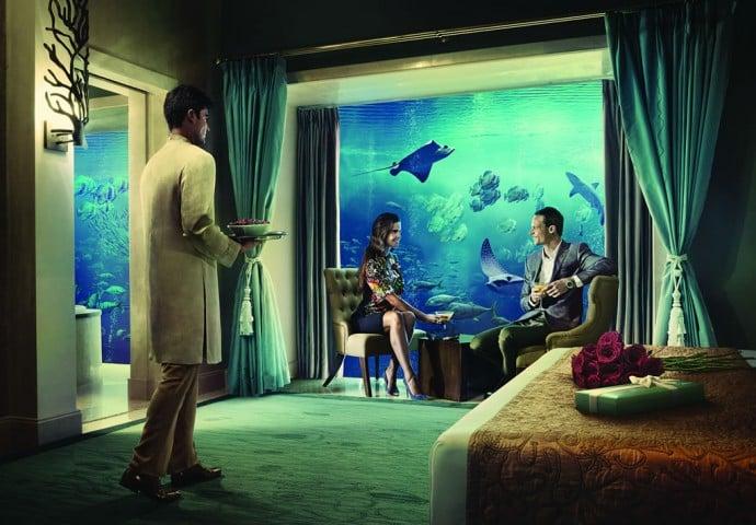 Underwater Suite Bedroom