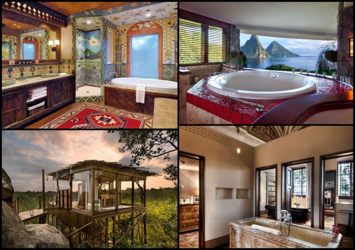 Who Needs A Room We Pick The 11 Best Hotel Bathrooms In The World