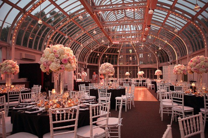 Here are the 5 most exclusive wedding venues in new york - New york botanical garden wedding ...