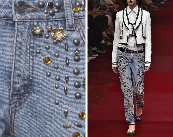 fancy a  12 500 swarovski encrusted dolce  u0026 gabbana jeans