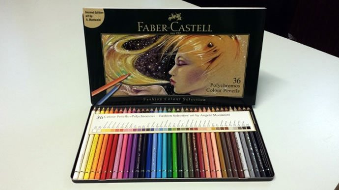 For the aspiring Lagerfeld - Limited edition Faber Castell coloring ...