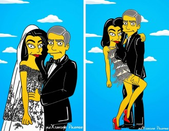 george-clooney-amal-simpsonized-1