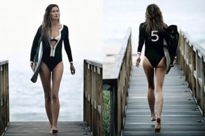 Gisele Bündchen puts her love for surfing to advert as the new face of Chanel No. 5