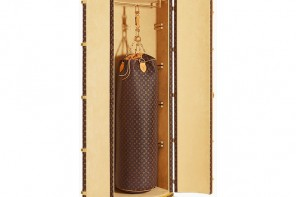 Would you buy Karl Largerfeld and Louis Vuitton's $175,000 monogrammed punching bag?