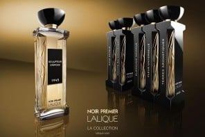 Lalique launches Noir Premier fragrance collection exclusively at Harrods