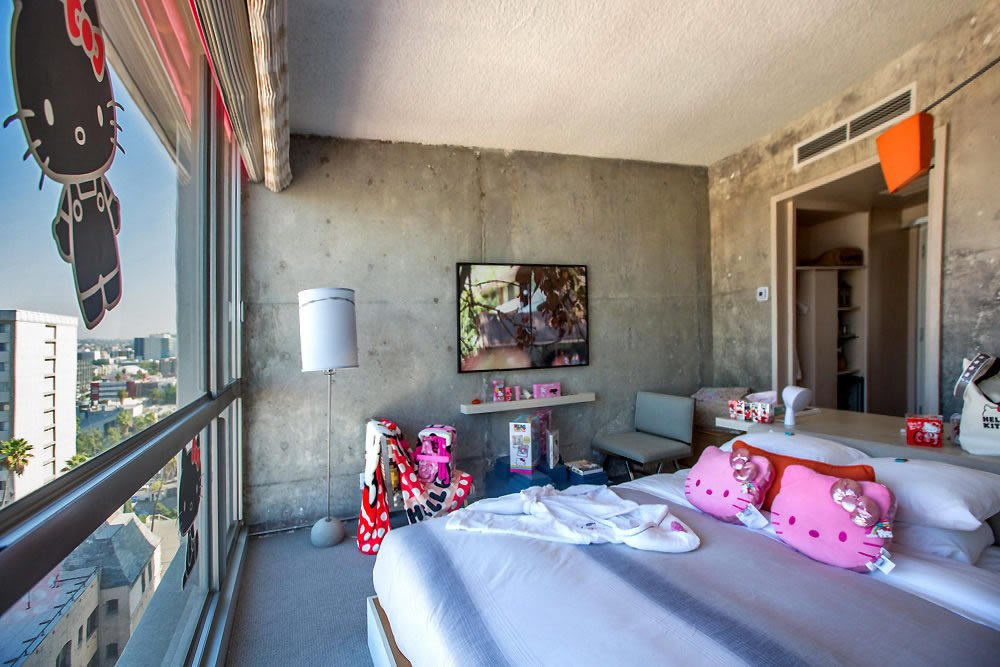 The Line Hotel In La Reveals Much Anticipated Hello Kitty