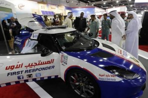 Only in Dubai: $150,000 Lotus Evora customized into the world's fastest ambulance
