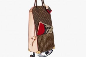 Cart away your groceries in style with this $23,000 Louis Vuitton x Christian Louboutin shopping trolley!