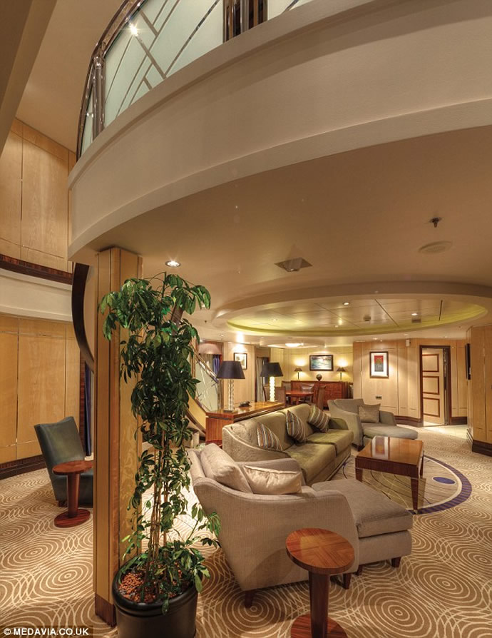 Check Out The World S Most Luxurious Cruise Ship Cabin