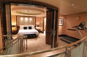 Check out the world's most luxurious cruise ship cabin, with private gym, marble bathrooms and $196,225 price tag