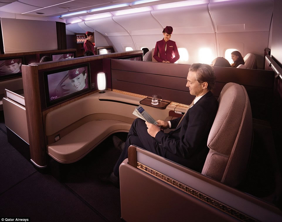 Adjustable Beds Reviews >> Qatar Airways A380 First Class suites come with caviar ...