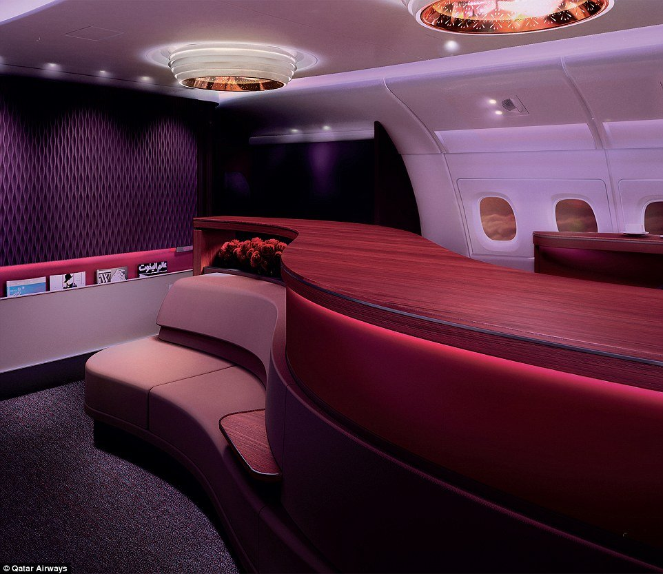 Qatar Airways A380 First Class suites come with caviar ...