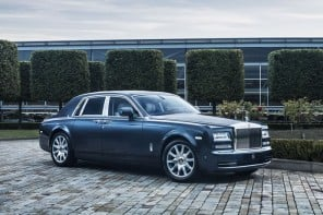 Limited edition Rolls Royce Phantom Metropolitan Collection pays tribute to world's great metropolises