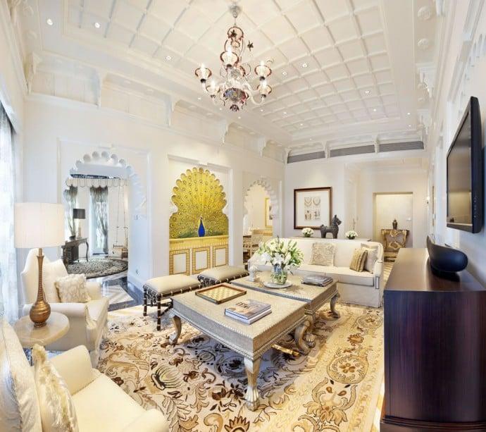 Rajput Suite Living Area